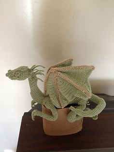 Dragon by Rhonda Ahart  This is a very complicated pattern. Patience and experience highly recommended.