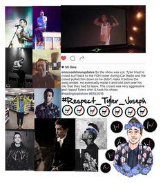 """// #Respect_Tyler_Joseph //"" by alice-killjoy01 ❤ liked on Polyvore featuring art and RespectTylerJoseph"