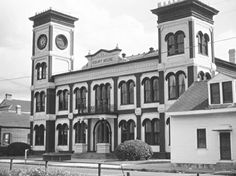 ALGIERS COURTHOUSE, 1940's  My Mother was Married here in the 40'S New Orleans river sister Algiers, La.