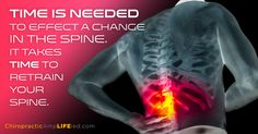 Your body takes time to heal. Support your health with regular chiropractic adjustments.
