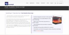 VideoChat Roulette Script Installation Assistance Coupon Discounts Page