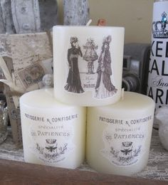 dress up dollar store candles