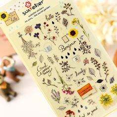 Size: 9.8cm * 19cm  These cute stickers is great for making cards, special mailings or scrapbooking. Deco your own diary, cup, glass, bowl , smartphone etc. ~  I hope you like it~  (Type: SZTZ59)  ...................................(*^__^*) ……..............................  ♥ All Items will be shipped by Hong Kong Registered Airmail or China Registered Airmail, which comes with a tracking number so you can track the whereabouts of your purchase~  ♥ We use tamper-proof cushion leather bags…
