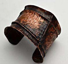 Fabulous Fold-Form Copper Cuff Jeff Fulkerson