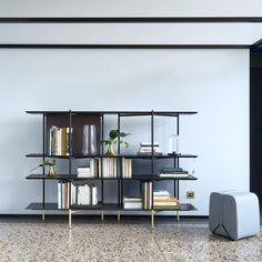 clyde bookshelf designed by