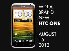 Win a Brand New HTC One - International Giveaway