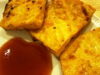 """Pictured: <a href=""""http://vegetarian.about.com/od/vegetarianbarbecuerecipes/r/sweetbbqtofu.htm"""">Sweet and spicy barbecue tofu</a>"""