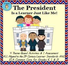 "Theme - Presidents' Day - ""Presidents are... by 21st Century K | Teachers Pay Teachers"