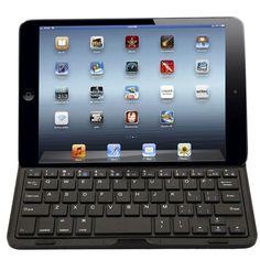 Aluminum Bluetooth Wireless Keyboard Keypad Case Cover For iPad Mini