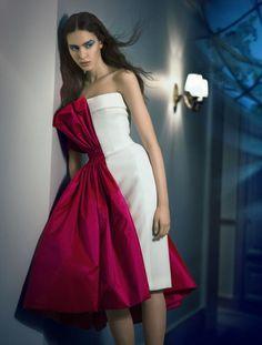 Tako Natsvlishvili by Benjamin Kanarek for SCMP STYLE Magazine June 2015 - Jean Paul Gaultier Spring 2015 Couture