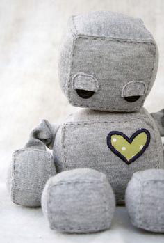 Resultado de imagem para robot plushie
