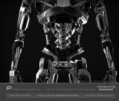 ArtStation - Terminator T-810, Alexander Kulinchenko