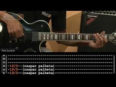 Highway To Hell - AC/DC (aula de guitarra completa) - YouTube