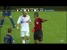 I #Mondiali del 2006 e la famosa testata di #Zidane