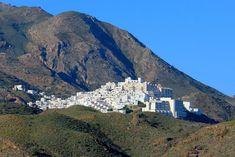Pueblo de Mojácar a 5 minutos del campo de golf, uno de los mejores pueblos de la costa de Almería