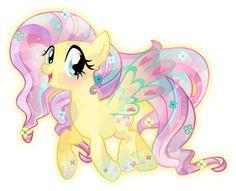 "dragonbait-ep: ""Rainbow Power: Crystal Fluttershy by TheShadowStone """