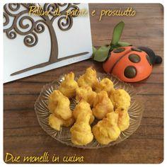 Palline di patate e prosciutto