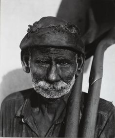 Walker Evans, Coal Dock Worker, Havana, 1932.