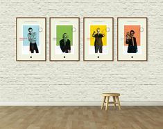 TRAINSPOTTING: Minimalist Movie Poster Art Print Set. A Danny Boyle Film. Trainspotting Movie. Alternative Movie Poster. Giclee Art Print. $80.00