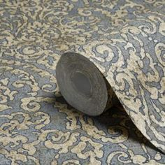 Creation Bohemian Burlesque Petrol Blue & Gold Damask Metallic Wallpaper - B&Q for all your home and garden supplies and advice on all the latest DIY trends Classy Wallpaper, Metallic Wallpaper, Wallpaper Decor, Pattern Wallpaper, Embossed Wallpaper, Stunning Wallpapers, Blue Wallpapers, Spare Room Paint Ideas, Expensive Wallpaper
