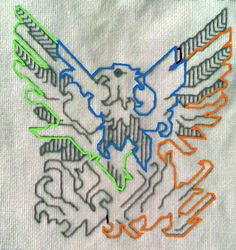 Double Running Stitch   String-Or-Nothing