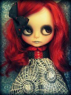 Blythe Halloween Vampire-Cordelia Revamped