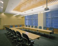 Bernhardt Design's Itinerary table at Puget Sound Energy by JPC Architects