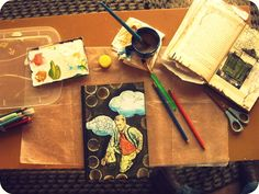 Art Journaling While Traveling