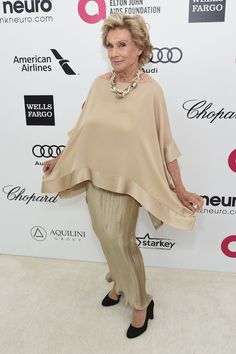 Pin for Later: Elton John's Star-Studded Oscars Bash Is Where the Party's At Cloris Leachman