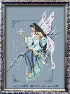 Winter Fairy Spirit - Cross Stitch Pattern