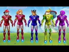 Paw Patrol Finger Family Songs | Chase, Rubble, Skye, Marshall | Nursery Rhymes and more - YouTube