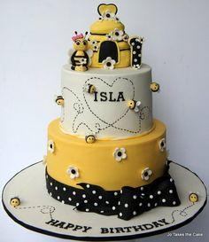 Little Bee Cake by JoTakestheCake