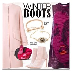 """""""So Cozy: Winter Boots"""" by mada-malureanu ❤ liked on Polyvore featuring M Missoni, Roksanda, Kate Spade, jewelry, winterboots and thestyledcollection"""