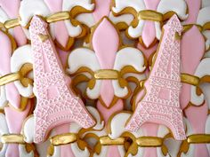 Oh Sugar Events: Pretty in Parisian Pink (Perfect for a Paris themed bridal shower)