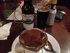 Haviestoun Old Engine Oil x Mousse de chocolate #cerveja #harmonizacao #beer #food #pairing
