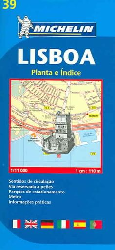 Michelin Lisboa / Michelin Lisbon: Indice das ruas Metro Informacoes praticas