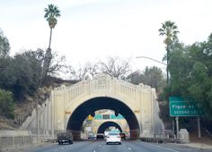 """"""" Figueroa Street Tunnels """" in L.A. CA     """" Route 66 on My Mind """" http://route66jp.info Route 66 blog ; http://2441.blog54.fc2.com https://www.facebook.com/groups/529713950495809/"""