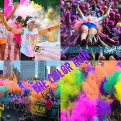 The Color Run! - it was on my bucket list, and on Saturday 17 Aug 13 I did it!!!!! Can't wait to do it again next year!