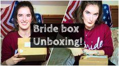 BRIDE BOX UNBOXING UK 2016, british bridal subscription box, great gift for brides