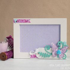 frame-picture-altered-spring-butterfly-sizzix-big-shot-dies