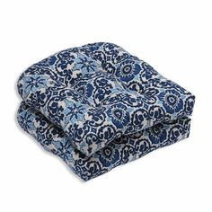 Found it at Wayfair - Woodblock Prism Outdoor Dining Chair Cushion