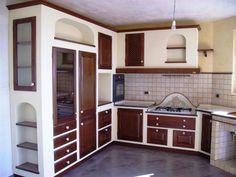 Cucina in muratura moderna n.30   Cucine   Pinterest