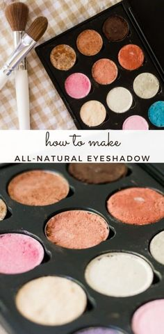 Make your own homemade eyeshadow that is both safe and long-lasting with this simple recipe. With a few all-natural ingredients you can make a toxic-free eyeshadow that really works!