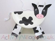 Nice and funny Farm Craft Cow Art Project - Simple Mother Project, Art Cow Craft Cute Farm .Nice and funny Farm Craft Cow Art Project - Simple Mother Project, Art Cow Craft Cute Farm Paper Plate Art, Paper Plate Animals, Paper Plate Crafts, Fun Crafts For Kids, Toddler Crafts, Preschool Crafts, Activities For Kids, Crafts Toddlers, Kindergarten Crafts