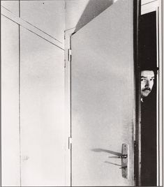 BILL BRANDT :: Alain Robbe-Grillet (the French writer), 1965