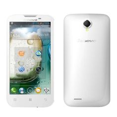 [$183.00] Lenovo A830 5 Inch IPS Screen Android OS 4.2 Smart Phone, MT6589 1.2GHz Quad Core, WCDMA&GSM Network(White)