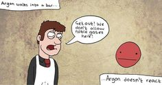 The problem with being Argon   Community Post: 20 Spectacularly Nerdy Science Jokes