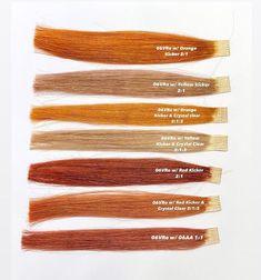 Red Hair Formulas, Redken Color Formulas, Hair Cutting Techniques, Hair Color Techniques, Nuances Redken, Red Hair Gloss, Under Hair Dye, Hair Color Swatches, Redken Hair Color