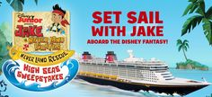 Disney Channel High Seas Sweepstakes. Visit GiveawayHop.com for more #sweepstakes and #giveaways