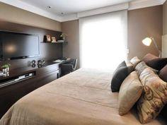 decoração quartos casal pequenos - Pesquisa Google